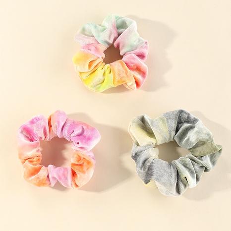 new Korean gradient color wild velvet plush hair scrunchies NHNU289361's discount tags