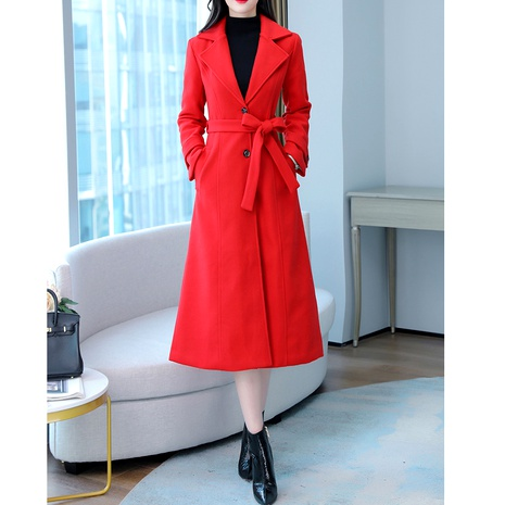 woolen thick coat NHJG290187's discount tags