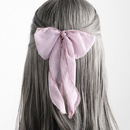 streamer bow knot hair rope hair ring  NHGE277661