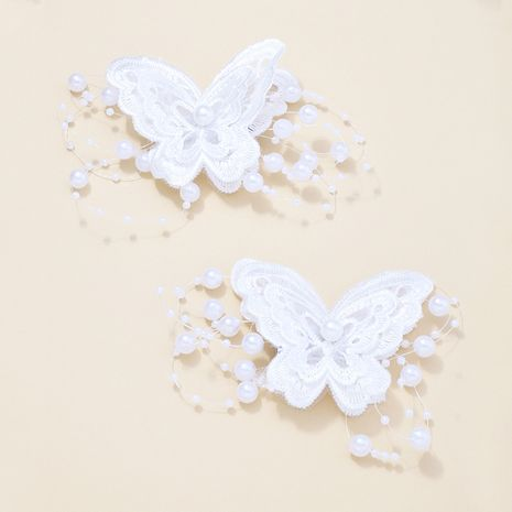 butterfly  pearl  hairpin  NHNU277700's discount tags