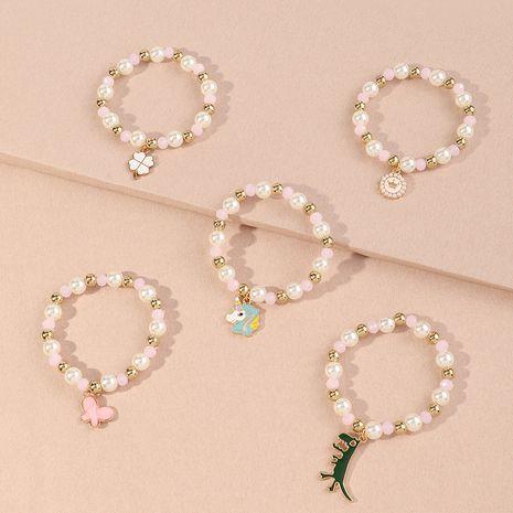 ensemble de bracelet en perles de dessin animé mignon NHNU277702's discount tags