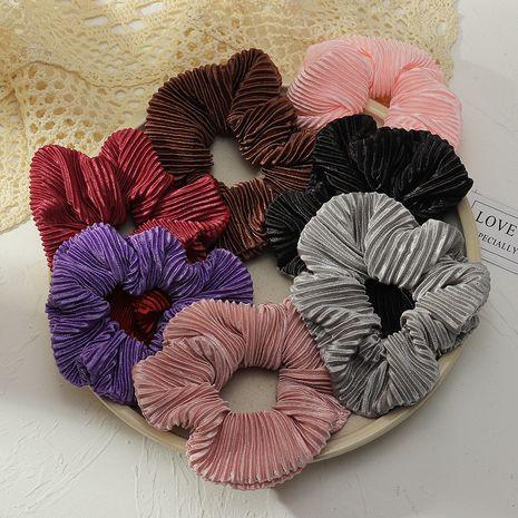 Mode coréenne nouveaux chouchous en mousseline de soie plissé NHAU277804's discount tags