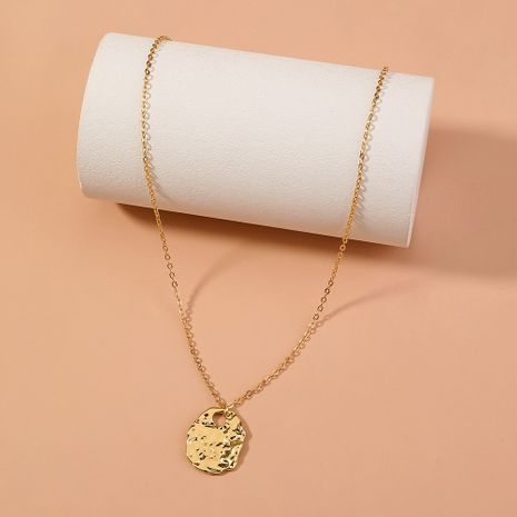 metal irregular golden hip hop necklace NHAN277832's discount tags