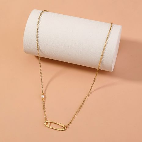 simple single layer personalized necklace NHAN277843's discount tags