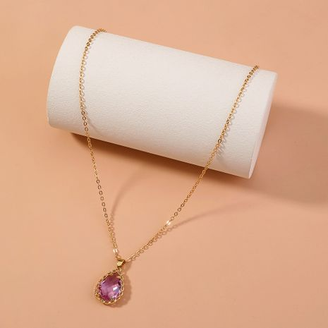 simple elegant versatile rice bead pendant necklace NHAN277844's discount tags