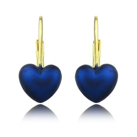 Boucles d'oreilles en forme de coeur couleur bonbon brillant NHLJ277895's discount tags