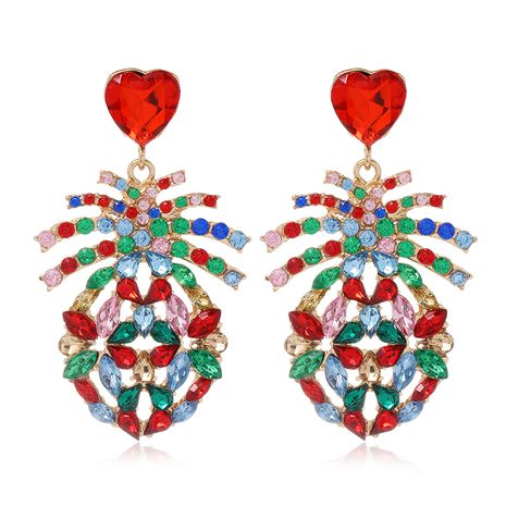 fashion metal diamond  exaggerated earrings NHSC278714's discount tags