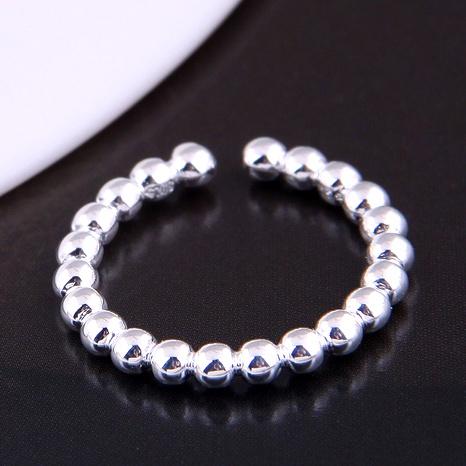 Bague ouverte à perles simples de mode coréenne NHSC289349's discount tags