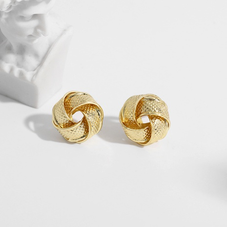 fashion exquisite twisted earrings NHJQ289131's discount tags