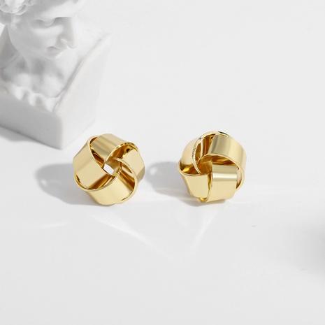 simple flower metal fashion earrings NHJQ289136's discount tags
