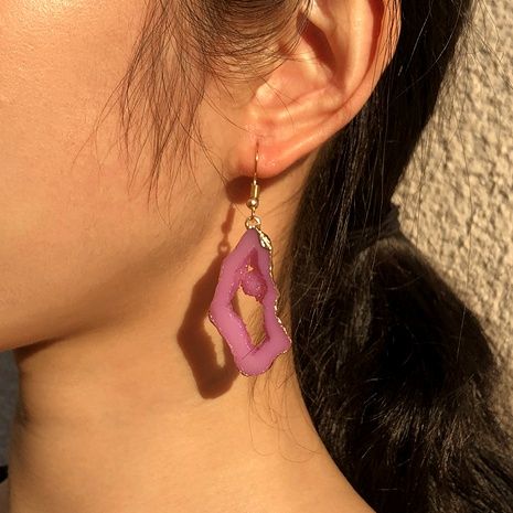 resin fashion simple earrings NHMD289293's discount tags