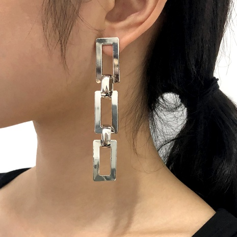 long chain earrings wholesale NHMD289303's discount tags