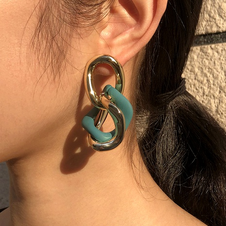 fashion Baroque retro earrings NHMD289319's discount tags