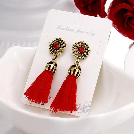 tassels retro fashion earrings NHPF289329's discount tags