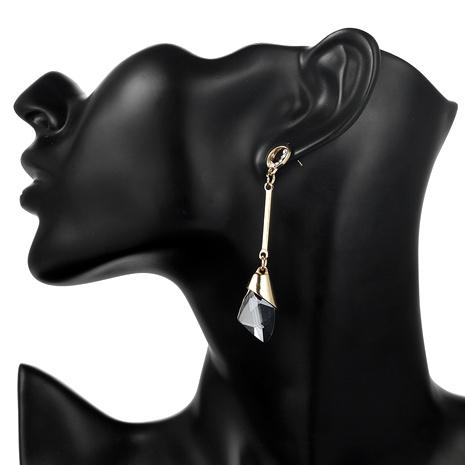 Diamond Long Tassel Pendant Earrings NHPF289333's discount tags