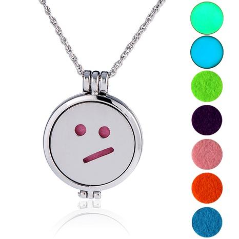 collar con colgante de emoji de hip hop NHAN289414's discount tags