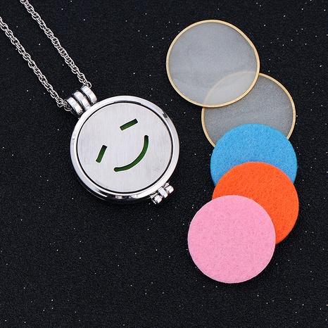 collar con colgante de emoji de hip hop NHAN289415's discount tags