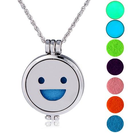 collar con colgante de emoji de hip hop NHAN289418's discount tags
