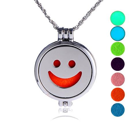 collar con colgante de emoji de hip hop NHAN289422's discount tags