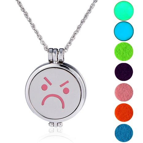 collar con colgante de emoji de hip hop NHAN289426's discount tags
