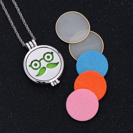 collar con colgante de emoji de hip hop NHAN289429's discount tags