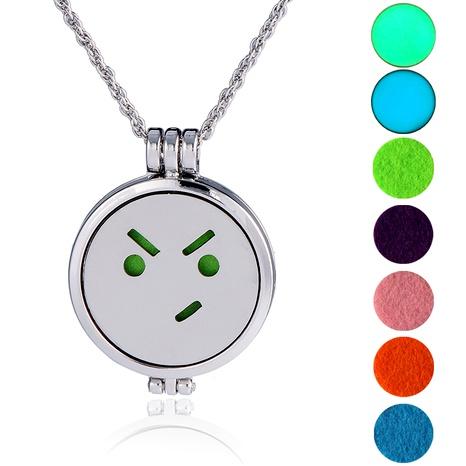 collar colgante emoji hip-hop de moda NHAN289431's discount tags