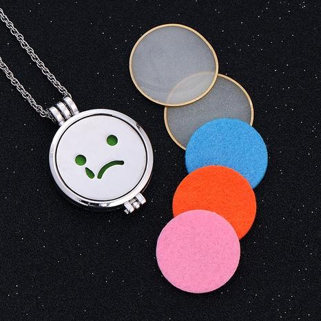 collar con colgante de emoji de hip hop NHAN289435's discount tags