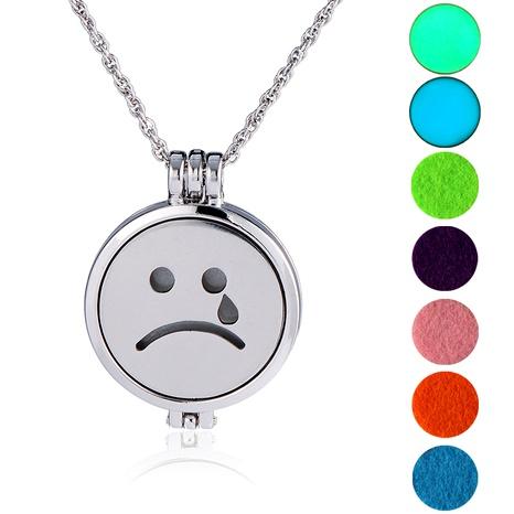 collar con colgante de emoji de hip-hop NHAN289436's discount tags