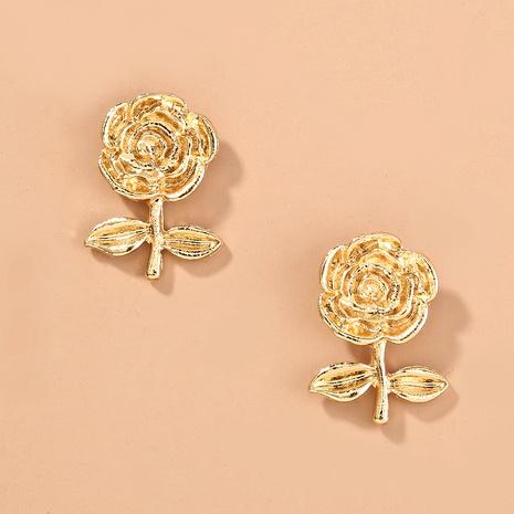 fashion rose earrings  NHAN289452's discount tags