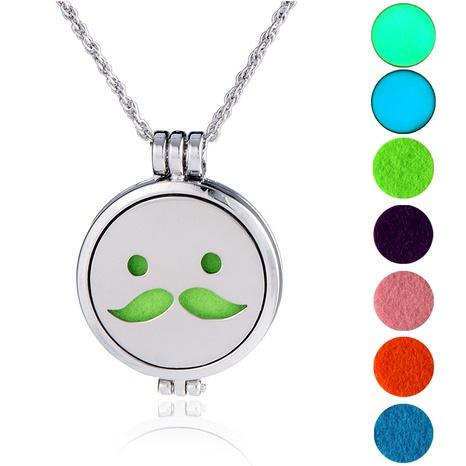 collar con colgante de emoji de hip-hop NHAN289486's discount tags