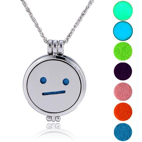 collar con colgante de emoji de hip-hop NHAN289487's discount tags