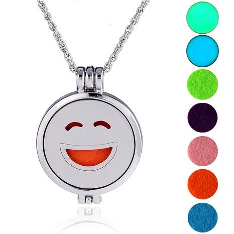 collar con colgante de emoji de hip hop NHAN289489's discount tags