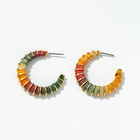 fashion c-shaped earrings  NHQJ289491's discount tags