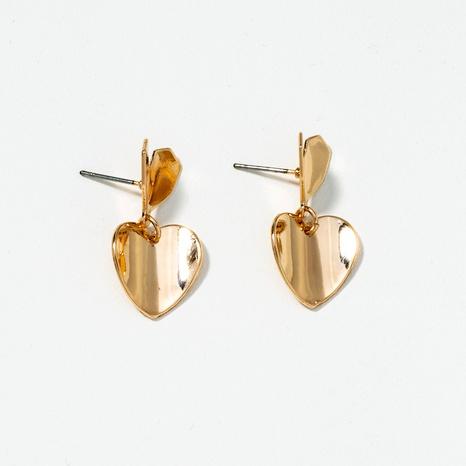 heart-shaped creative earrings  NHQJ289494's discount tags