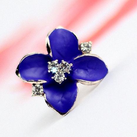 four petal flower cute stud earrings  NHPF289504's discount tags