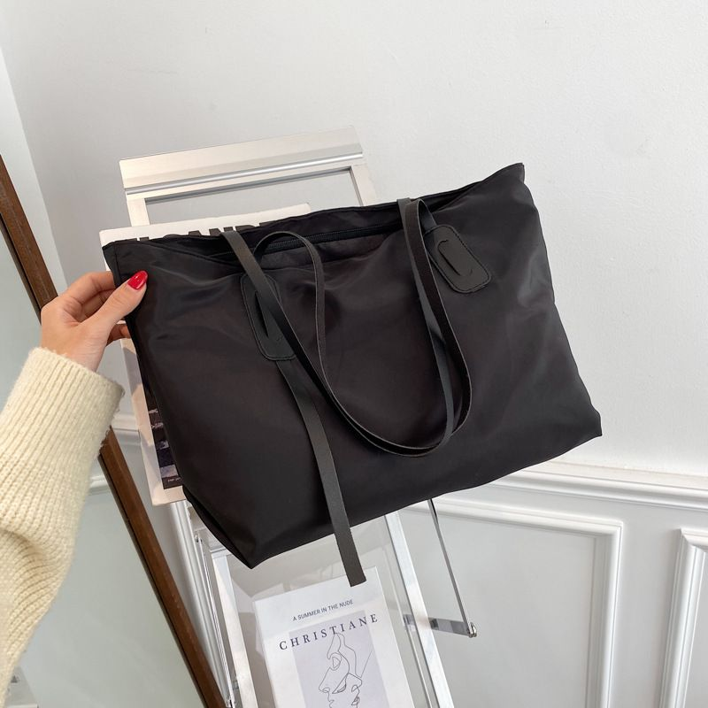 largecapacity fashion simple oneshoulder portable tote bag NHRU278314