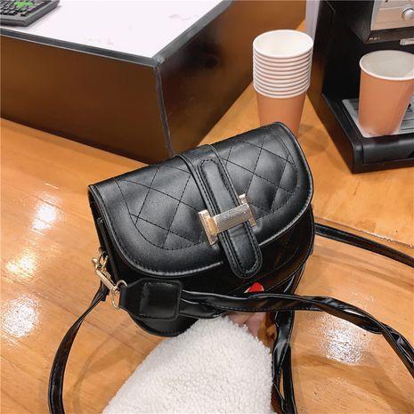 retro fashion all-match single shoulder messenger saddle bag NHRU278324's discount tags
