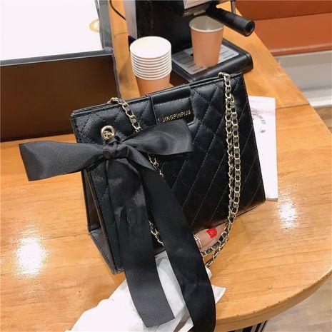 fashion all-match messenger fashion one-shoulder small square bag NHRU278330's discount tags