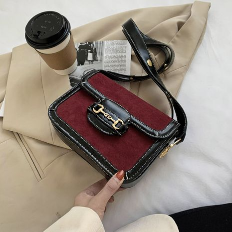 messenger retro saddle small square bag NHLH278400's discount tags