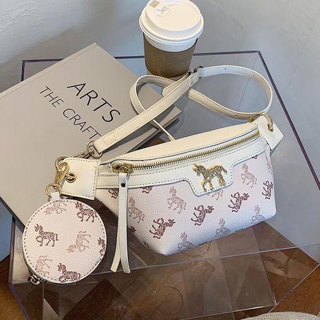 fashion Korean messenger chest bag NHLH278421's discount tags