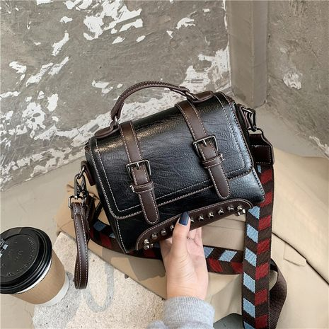 fashion messenger small shoulder bag NHLH278431's discount tags