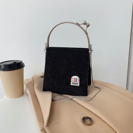 single shoulder messenger pure color bag NHLH278444's discount tags