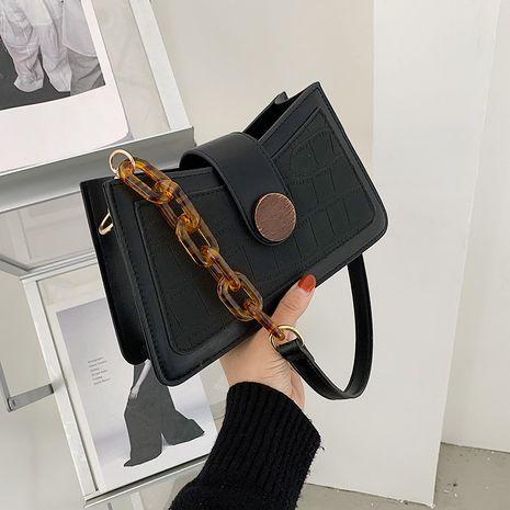 fashion one shoulder underarm bag NHLH278453's discount tags