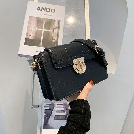 Korean fashion all-match stone pattern small square bag  NHJZ278470's discount tags