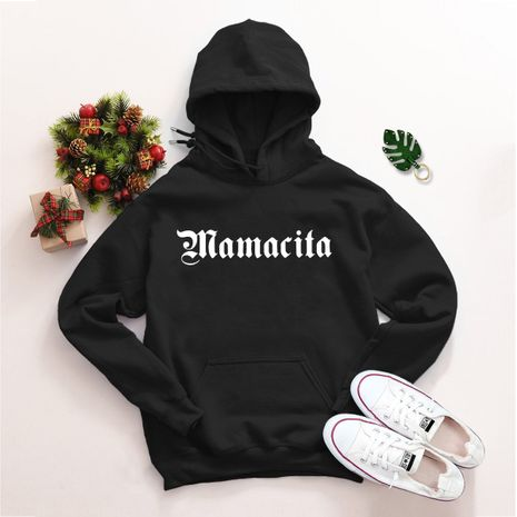 popular letter printed hooded sweater NHSN278684's discount tags