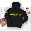 winter womens popular letter printed hooded sweater NHSN278695