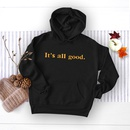 winter womens popular letter printed hooded sweater NHSN278697