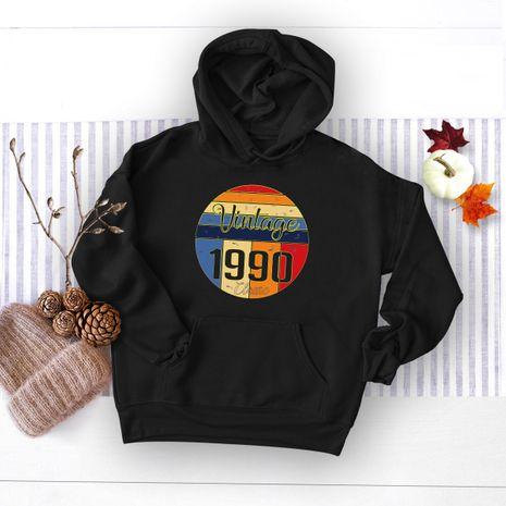 winter women's digital printing hooded sweater NHSN278704's discount tags