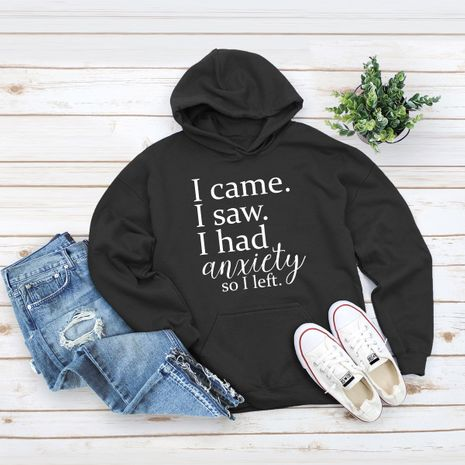 winter women's popular letter printed hooded sweater NHSN278708's discount tags