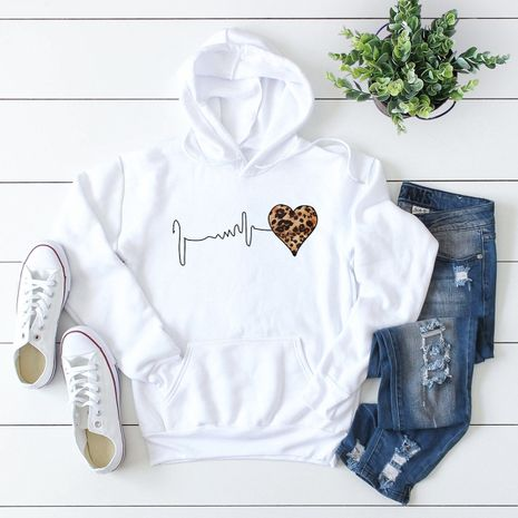 winter women's popular letter printed hooded sweater NHSN278709's discount tags